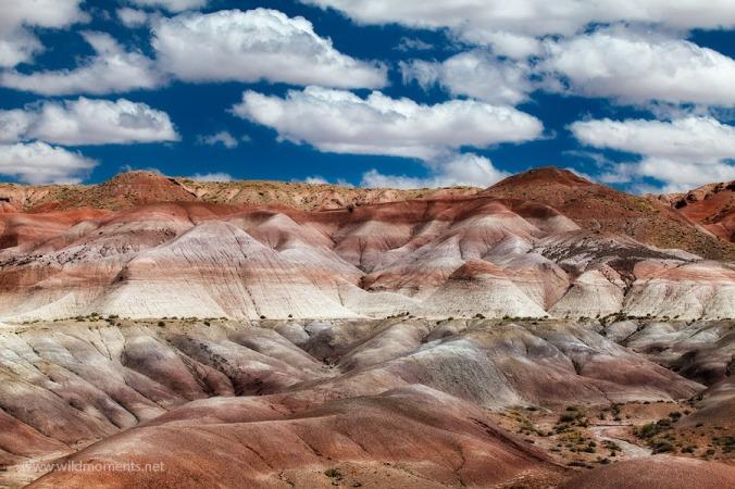 An isolated steep climb down near Winslow, AZ