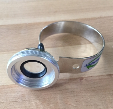 Macro clip on lens